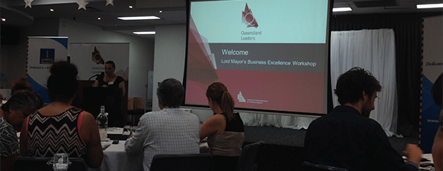 Strategenics attend the Lord Mayor's Business Excellence Workshop