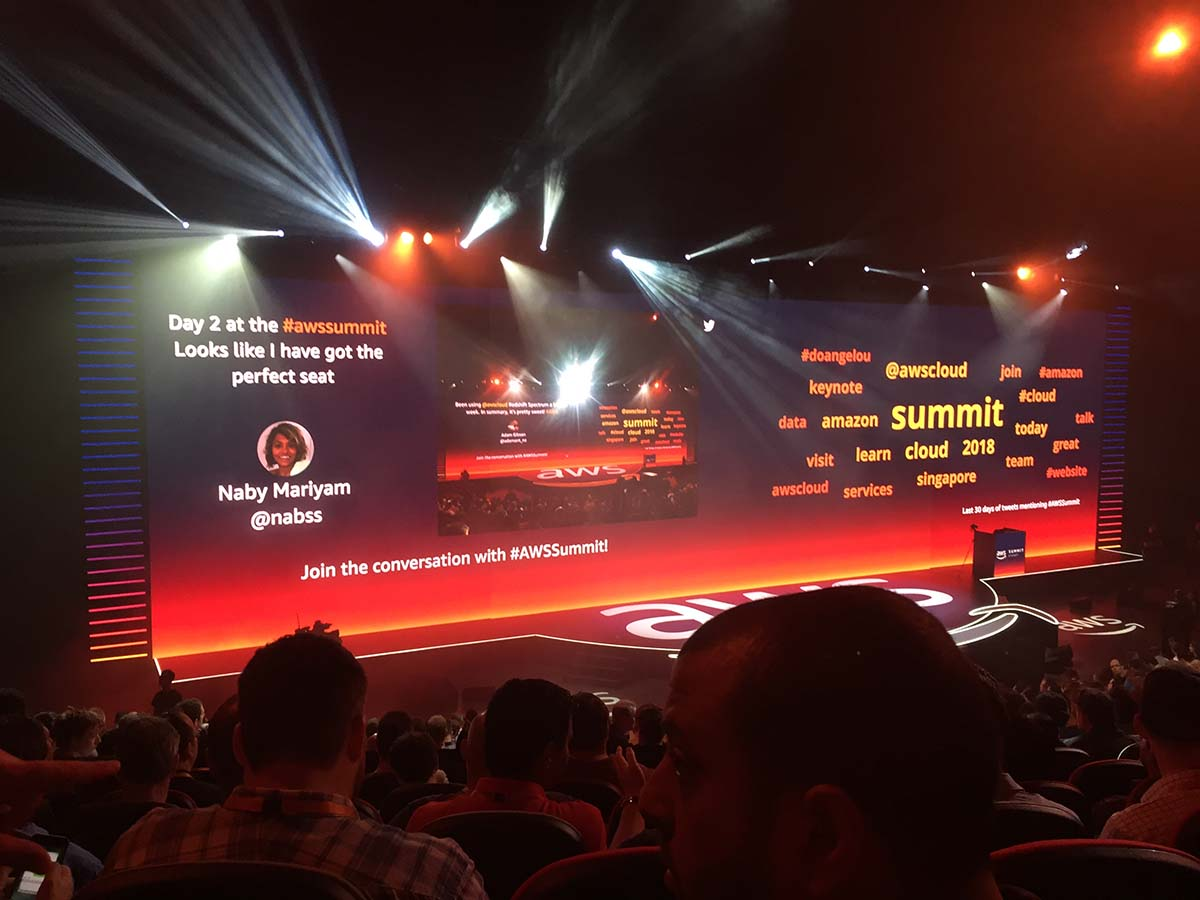 Amazon Web Services AWS Summit 2018