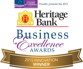 2015 Heritage Bank Business Excellence Awards - Winner, Innovation category