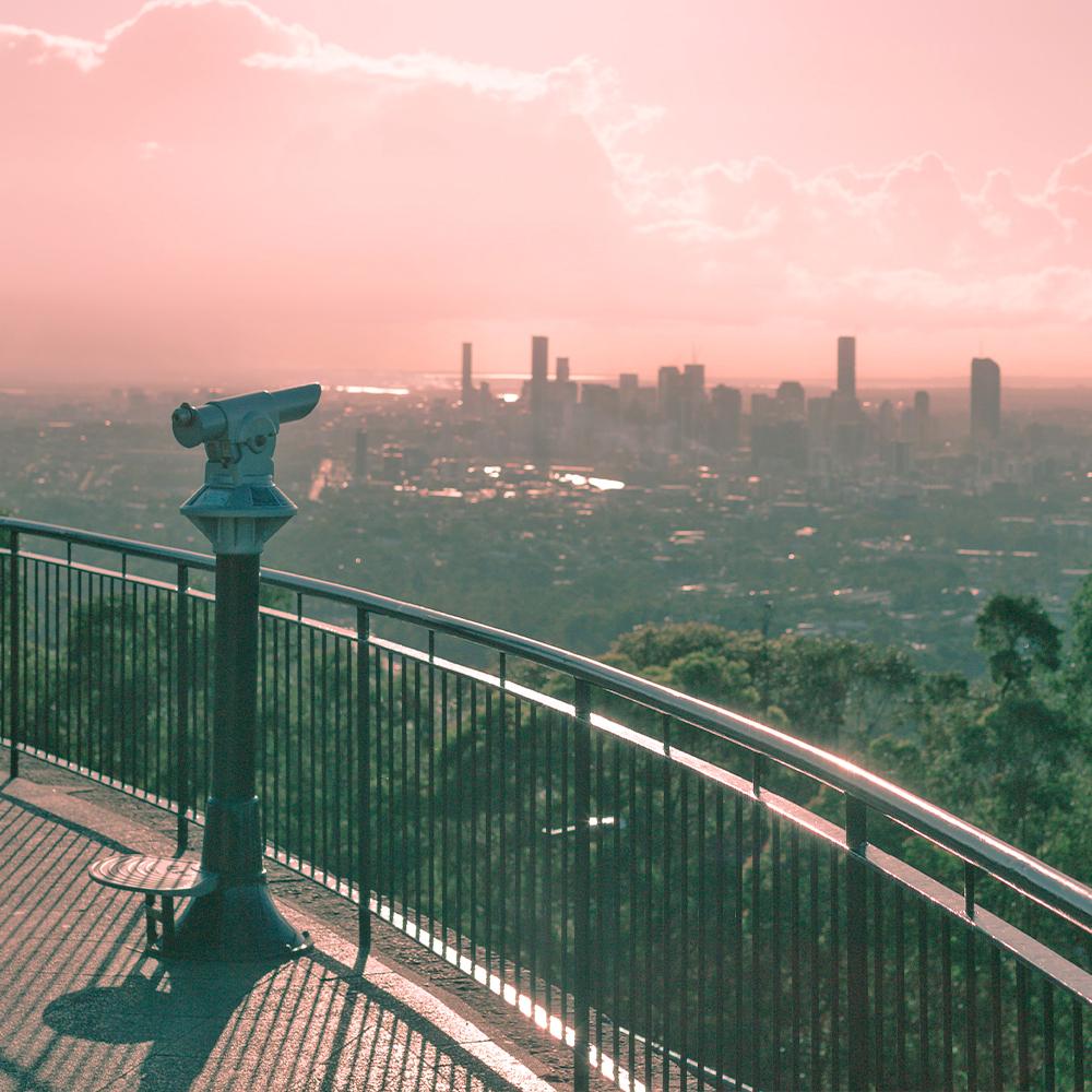 Brisbane lookout point
