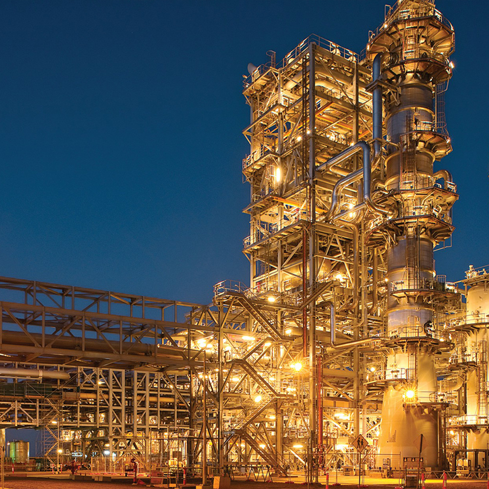 Oil processing facility