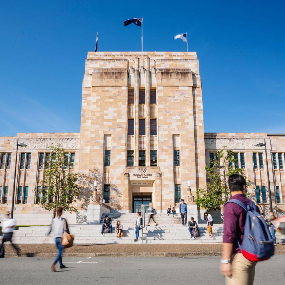 UQ campus entrance
