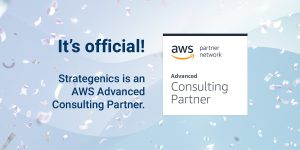 Read more about the article Press release: Strategenics achieves AWS Advanced Partner status