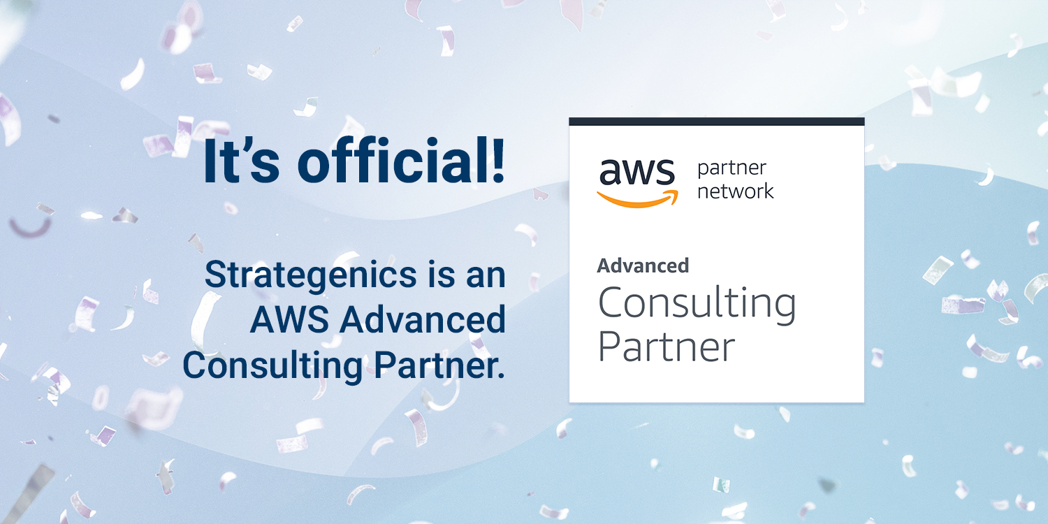 You are currently viewing Press release: Strategenics achieves AWS Advanced Partner status